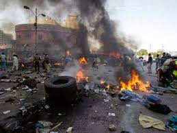 Suicide Bomber Kills 1 at Northeast Nigerian Bus Station as Amnesty insist Army killed 150 Pro Biafra campaigners