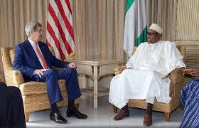 Anti Corruption war…Corruption is fighting back…Buhari tell Kerry