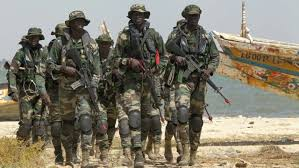 Senegalese soldiers enter Gambia to force Jammeh out