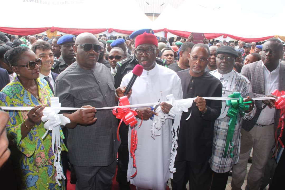 Gov. Okowa commision project in Rivers State