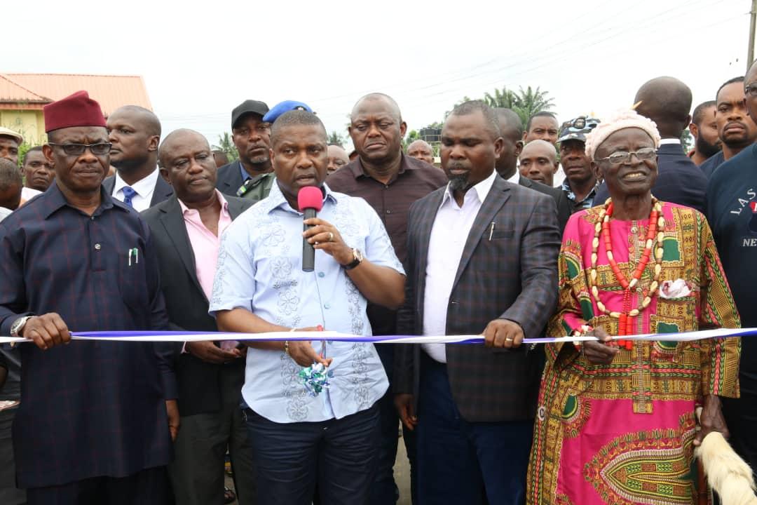 *NDDC Commissions Oku Iboku Roads, Inspects UNIUYO Projects*