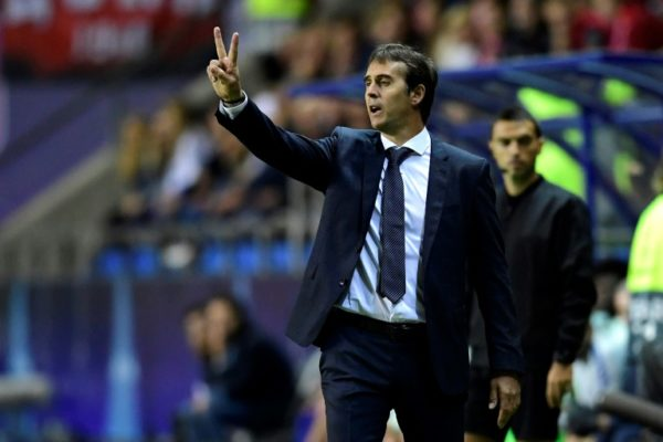 Madrid sack coach Lopetegui