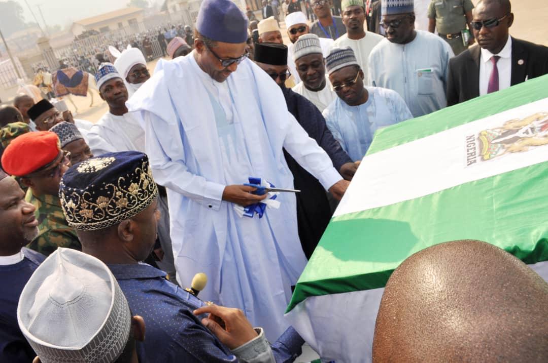 Buhari Commission multi billion Naira  Baro Port in Niger state