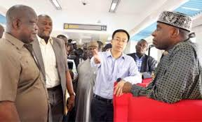 RAILWAY CONTRACTORS HAIL AMAECHI'S PERFORMANCE     …Minister is a workaholic – CCECC      …He is full of strength – TEAM