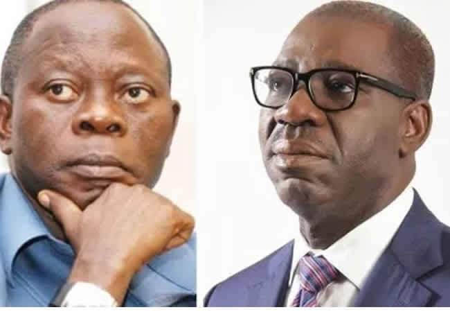 Gov Obaseki blast Oshiomhole again says he is  a sworn enemy to truth, cuddles lies all the time.