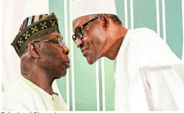 Obasanjo responsible for TI's damning report on Nigeria - Buhari