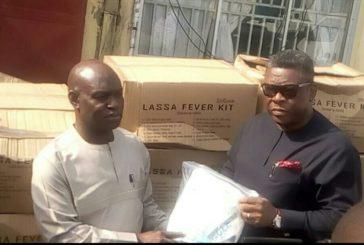 NDDC Donates Lassa fever Kits to Delta State