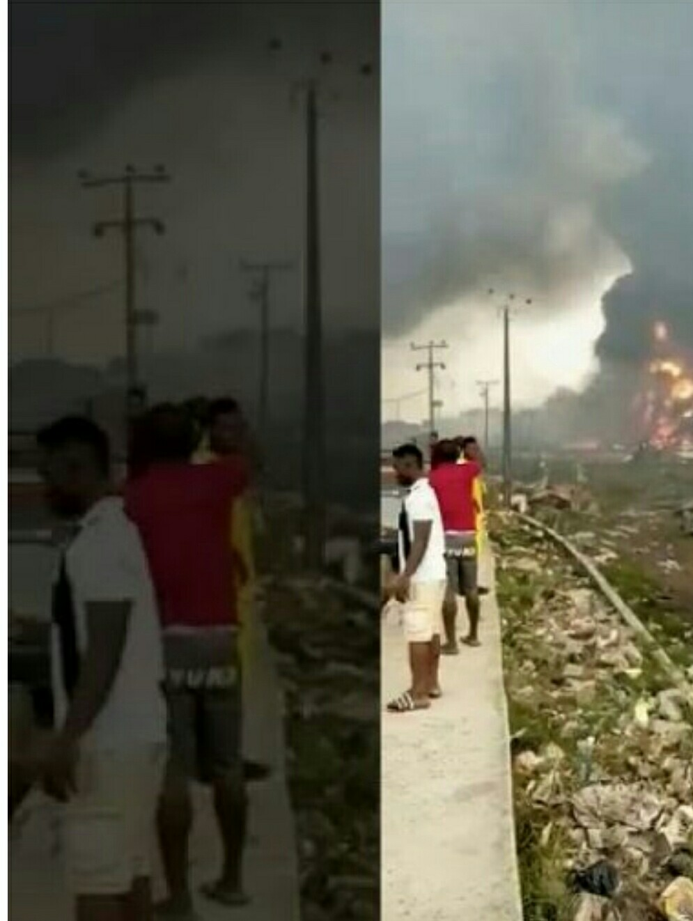 Lagos Explosion: many   Dead, Houses Destroyed