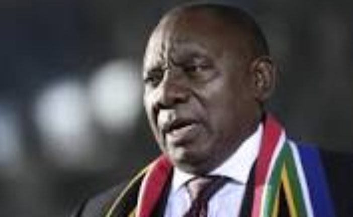 AFRICAN UNION CHAIR PRESIDENT CYRIL RAMAPHOSA APPOINTS SPECIAL ENVOYS TO MOBILISE INTERNATIONAL ECONOMIC SUPPORT FOR CONTINENTAL FIGHT AGAINST COVID-19