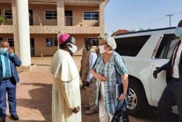 American envoy visits Bishop Kukah, says security situations in Nigeria very pathetic