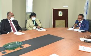 ICAN Courtesy Visit