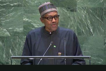 Full Speech of President Muhammadu Buhari at UNGA Meeting.