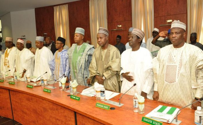 Northern Governors Reject Zoning Presidency to South. …Condemn VAT for States