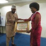 Photo News: National Association of Northern Nigeria Students Honoured Prof May Nwoye