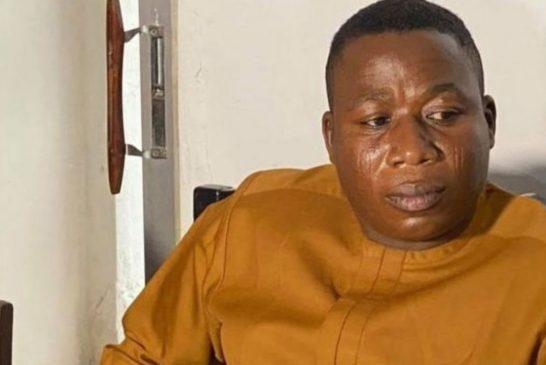 Sunday Igboho is a Terrorist, Linked with Boko Haram - Malami, has 43 Bank Accounts.